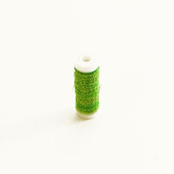 Bullion wire 25grms Lime Green #7796