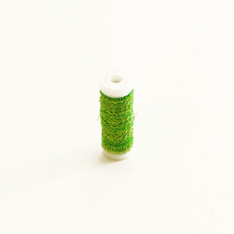 Bullion wire 25grms Lime Green