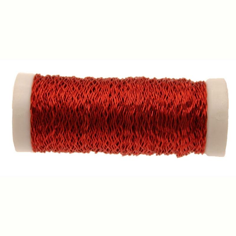 Red Bullion Wire 25g #wr4713