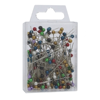 Corsage Pins Assorted Pearl X 144 (4CM) Mixed #PN1010