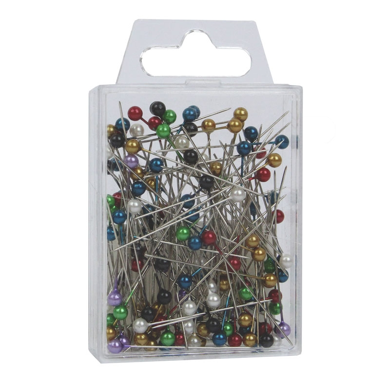 Corsage Pins Assorted Pearl X 144 (4CM) MIXED