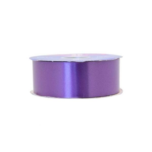 1 Roll of Purple Florist Poly Ribbon 100 Yards