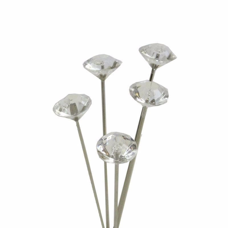 5cm Diamante Pin x 100 #PN1047