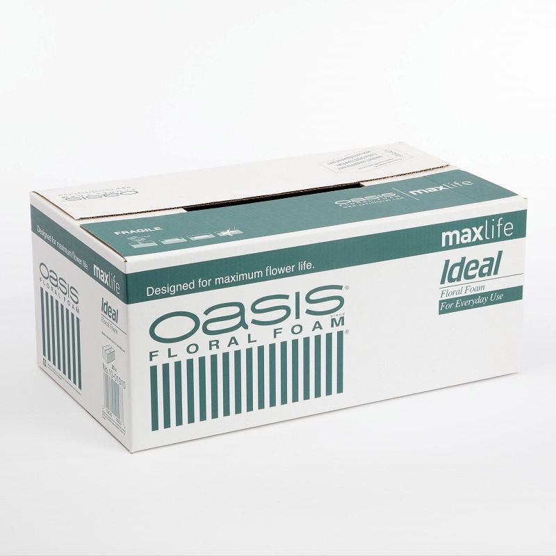 Oasis Ideal Maxlife Wet Floral Foam Box of 20