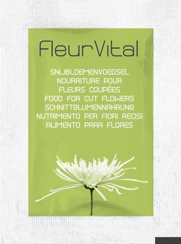 Fleur Vital Fresh Flower Food - 20 Sachets