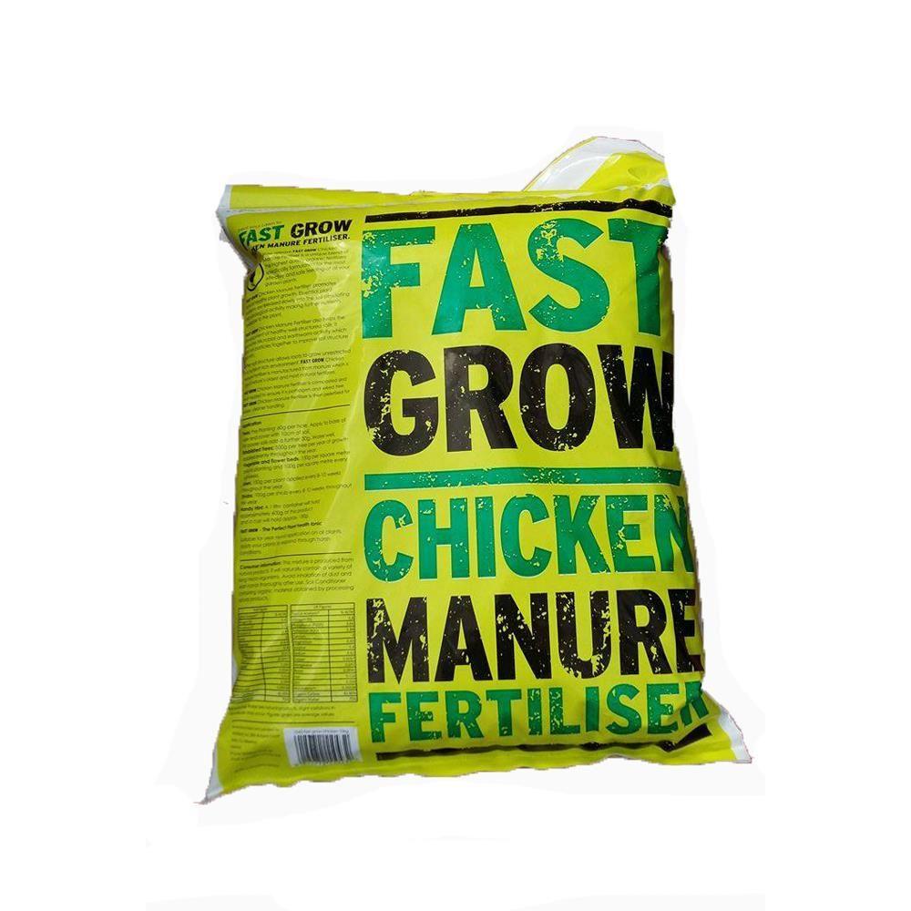 Fastgrow Chicken Manure - 10kg Bag