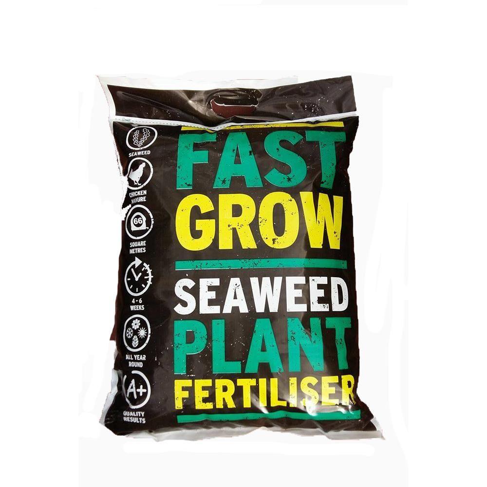 Fastgrow Blended Seaweed & Chicken Manure  - 10kg Bag