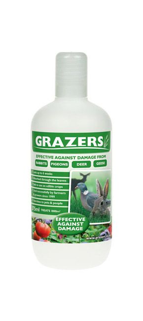 Grazers 375ml-Effective Against Damage From Rabbits, Pigeons, Deer, Geese e