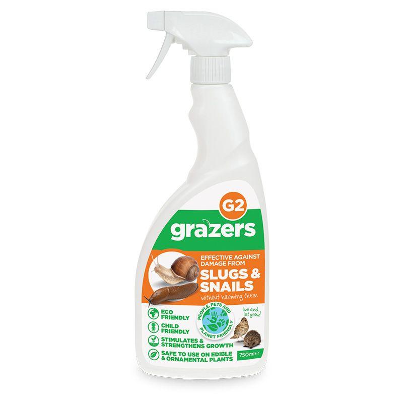 Grazers Slugs & Snails - 750ml Ready To Use - G2