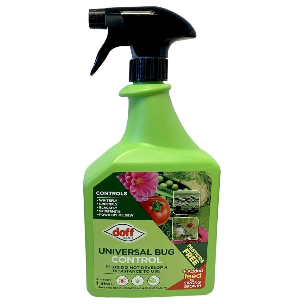 Doff Universal Bug Control - 1 Litre - Pesticide Free - Ready To Use