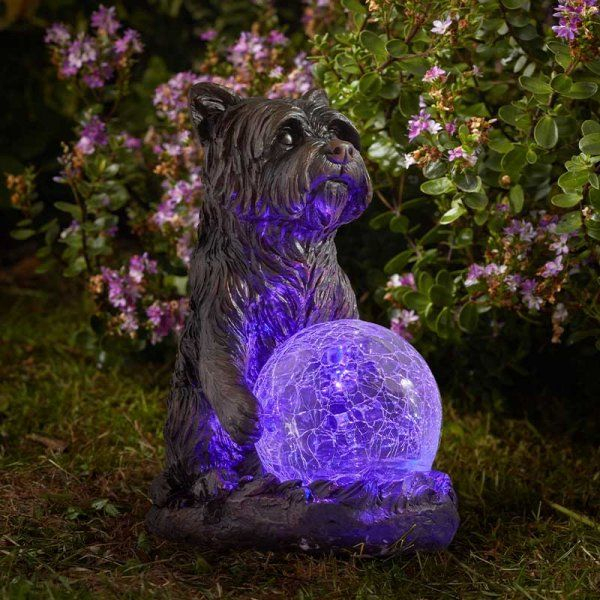 MysticDog Figurine - Solar Powered x 1 #1020923