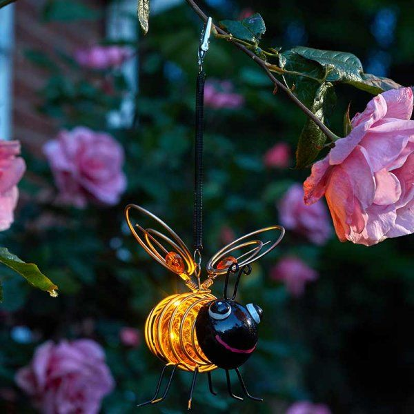 Bug Light Bee - Solar Powered x 1 #1080018