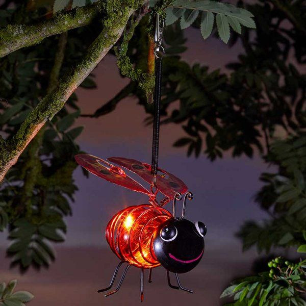 Bug Light Ladybird - Solar Powered x 1 #1080019