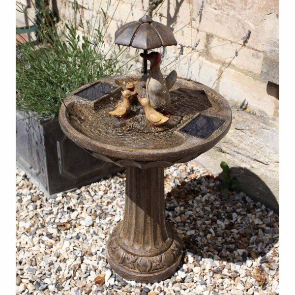 Duck Family Water Feature - Solar Powered x 1 #1170020RL