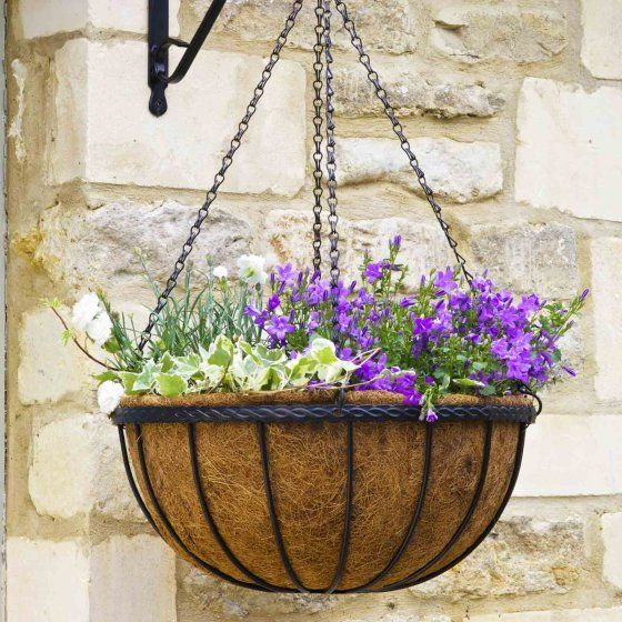 Hanging Baskets, Brackets & Liners