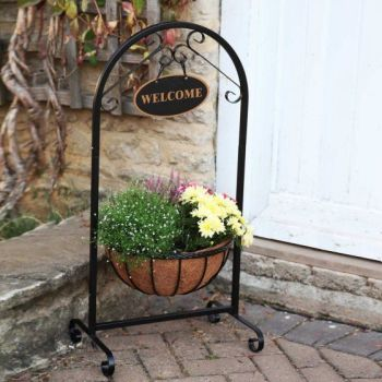 "14"" Saxon Welcome Planter x 1 #6030100"