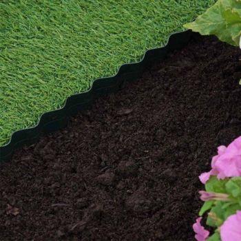 Plastic Lawn Edging - 15cmx10m #7020012