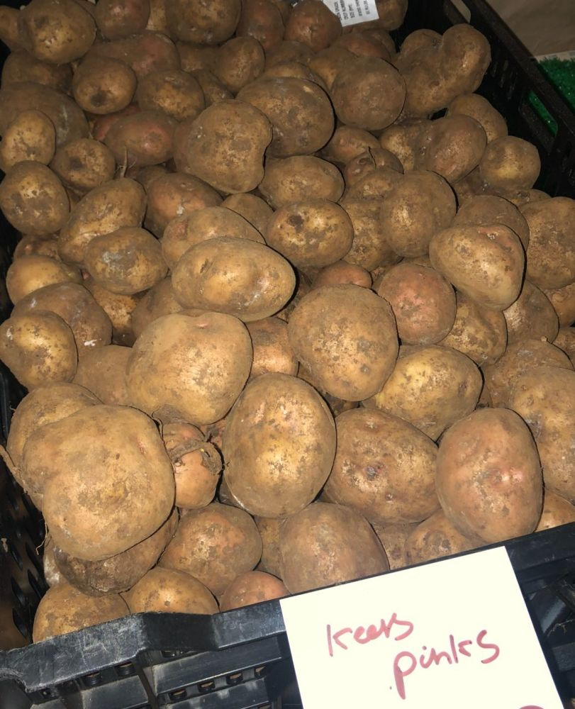 Kerr's Pink Seed Potatoes - 1kg