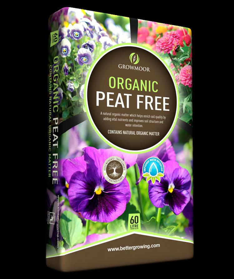 Organic Peat Free Compost - 60ltr