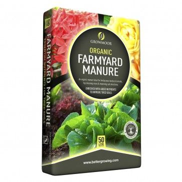 Organic Farmyard Manure - 50ltr #Growmoor Better Growing