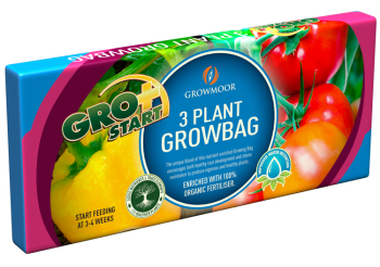 Grobag - 3 Plant - 24ltr #Growmoor Better Growing