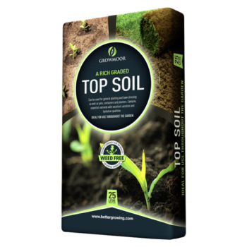 Top Soil - Rich Graded - 25ltr #Growmoor Better Growing