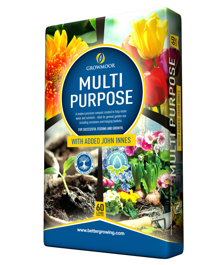 Multi Purpose With Added John Innes - 60ltr #Growmoor Better Growing