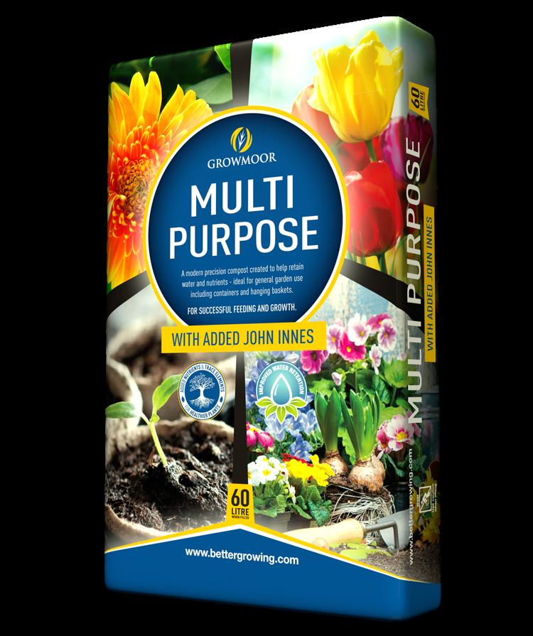 Multi Purpose With Added John Innes - 60ltr #Growmoor Better Growing