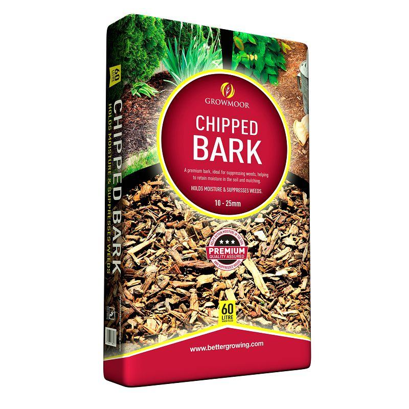 Chipped Bark - 50ltr #Growmoor Better Growing