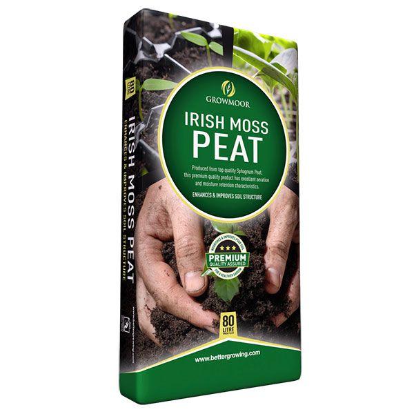 Irish Moss Peat - 80ltr #Growmoor Better Growing