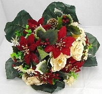 Christmas Artificial Silk Bunches & Fillers