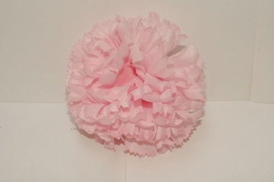 Silk carnation head baby pink bag of 48