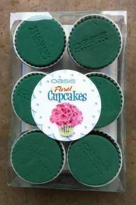 Oasis Floral Cup cakes 6cm box of 6 assorted