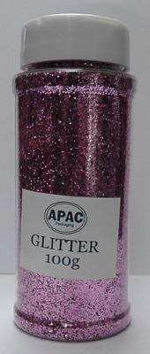 Floral Glitter 100g pink #30