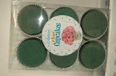 Oasis cupcakes 12cm pk6