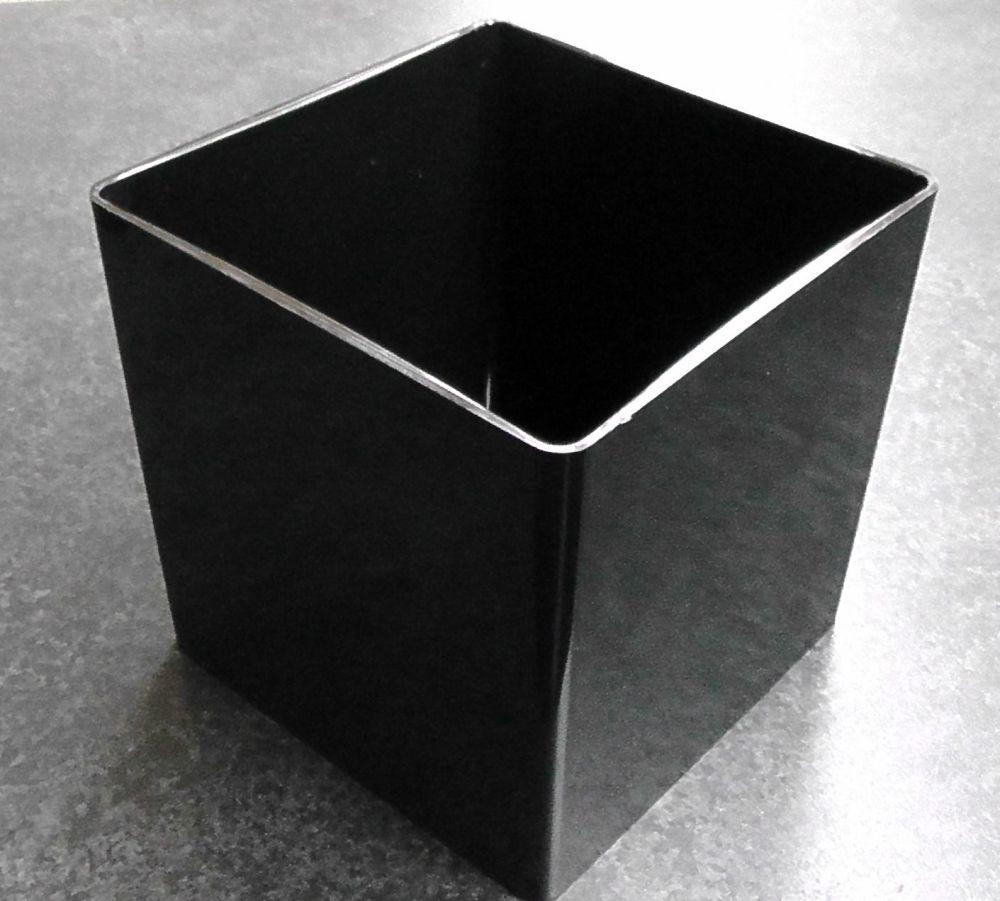 Black Acrylic Dish 6
