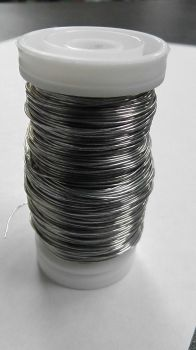 Metallic Reel Wire 100g Silver