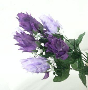 46cm Hops Foxtail 9 Head FB269SY #22693 Purple