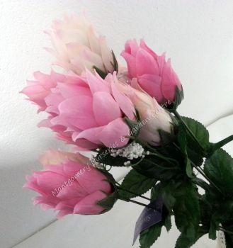 46cm Hops Foxtail 9 Head FB269SY #22693 Light Pink