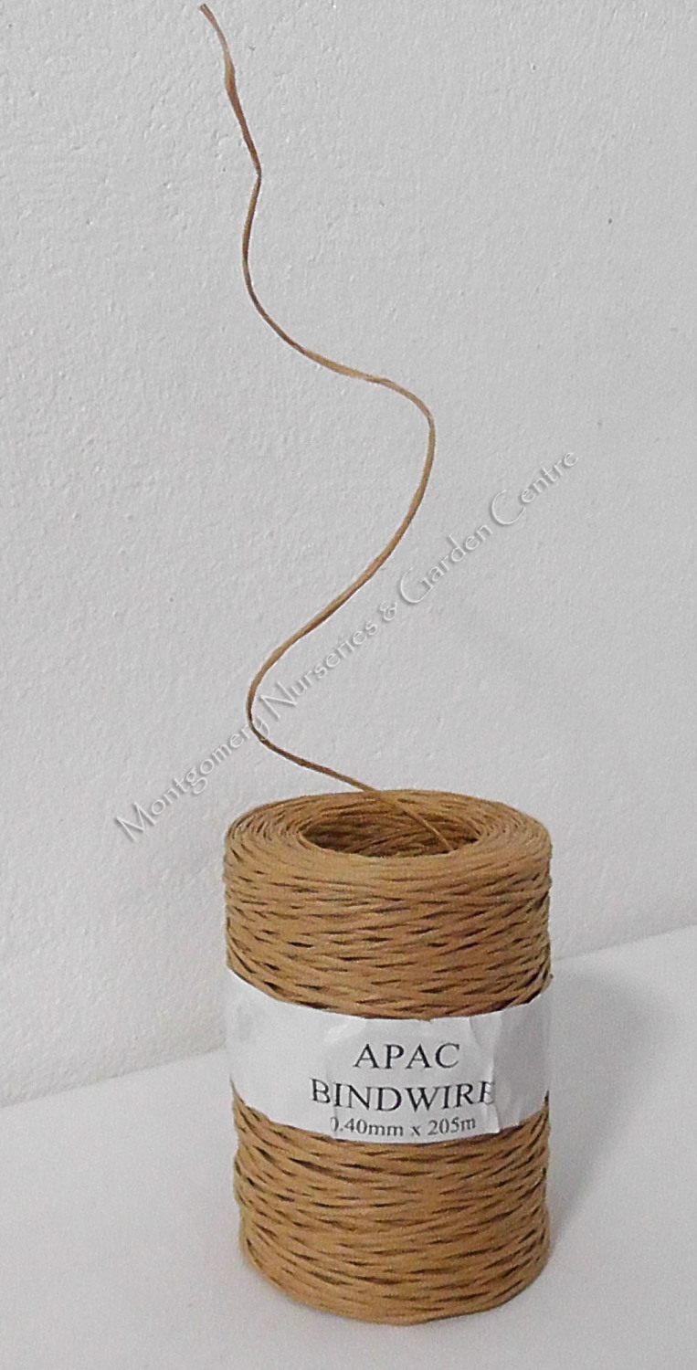 Bindwire Natural 0.4mm x 205metre Full Roll