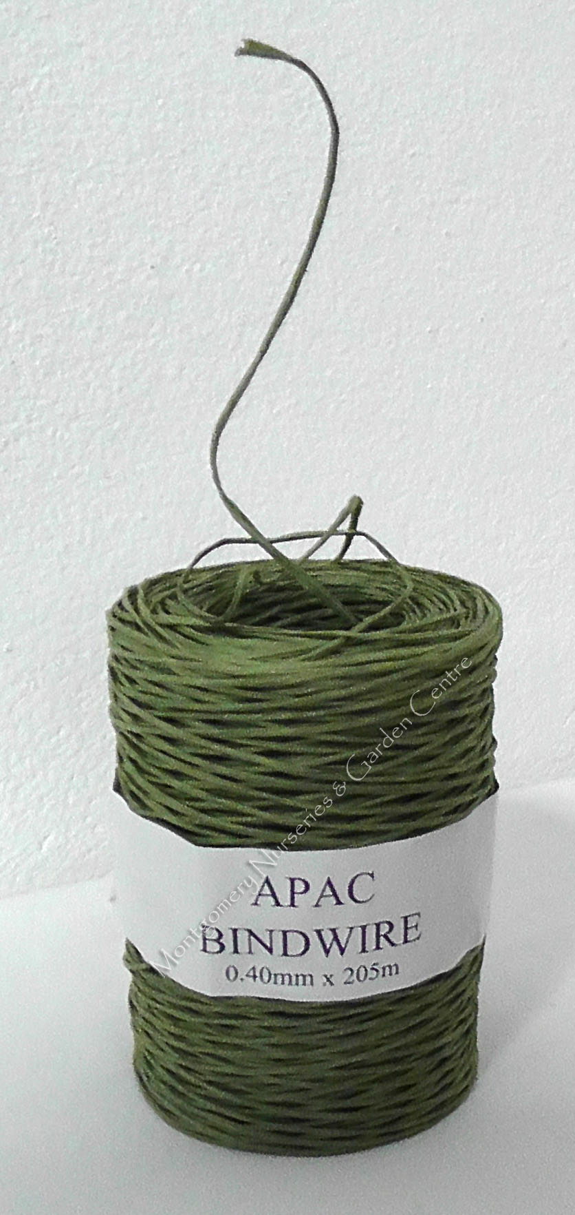 Bindwire Green 0.4mm x 205metre