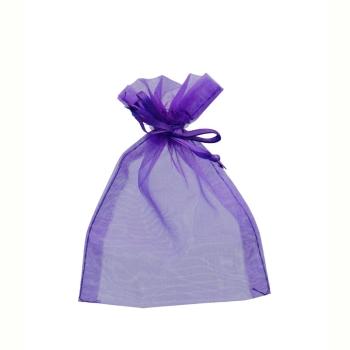 Purple Favour Bag 9 x 12cm Pack of 10 #bg2044