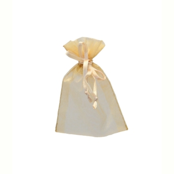Gold Favour Bag 7 x 10cm Pack of 10 #2067