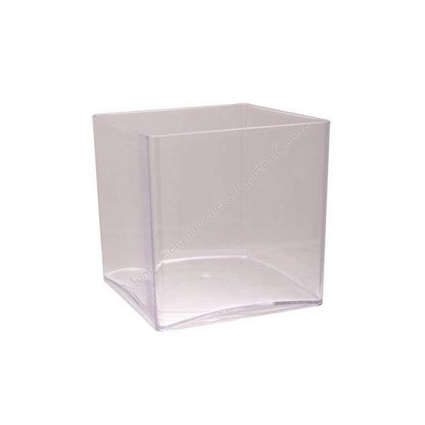 Clear Acrylic Cube 15 x 15cm #7175
