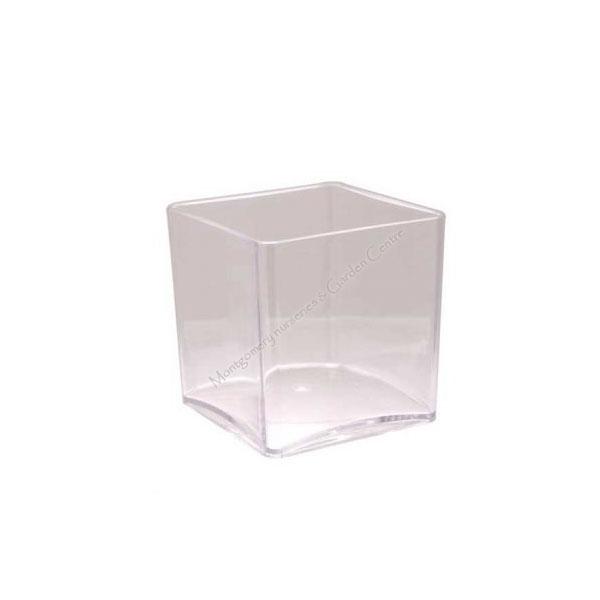 Clear Acrylic Cube 10 x 10cm #7199
