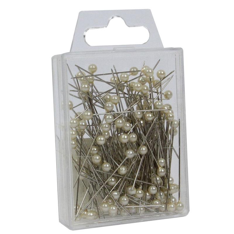 Ivory Pearl Pins (4cm) x144 #1009