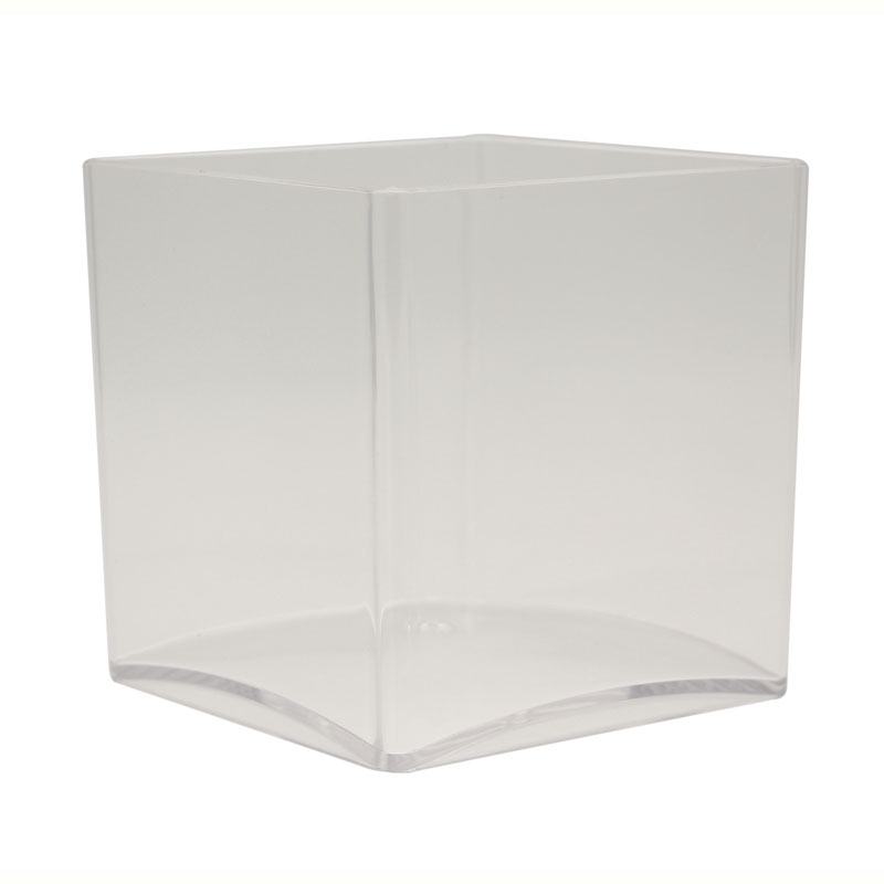 Clear Acrylic Cube 12cm x 12cm #3342