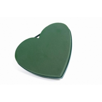 "Heart 17"" Plastic x 2 Closed Heart #2163"