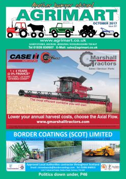 AGRIMART OCTOBER 2017 COVER