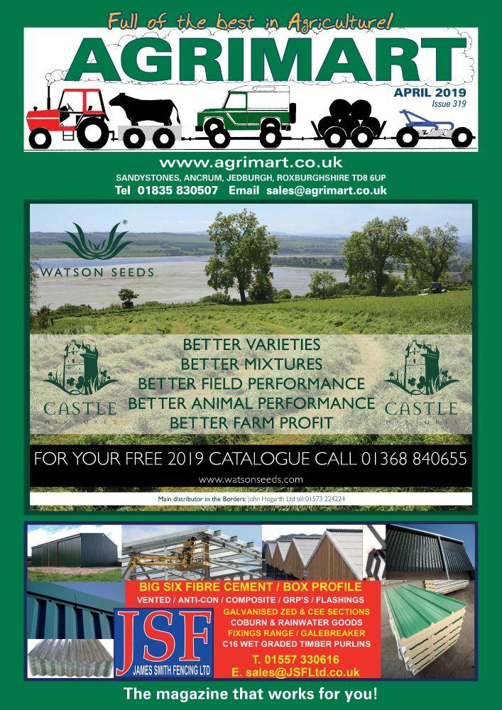 AGRIMART APRIL 2019 COVER